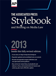 AP Stylebook available in print, for computers and smartphones