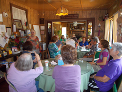 Betty gives us an orientation to Merritt Lodge