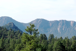 View of the Mogollon Rim.