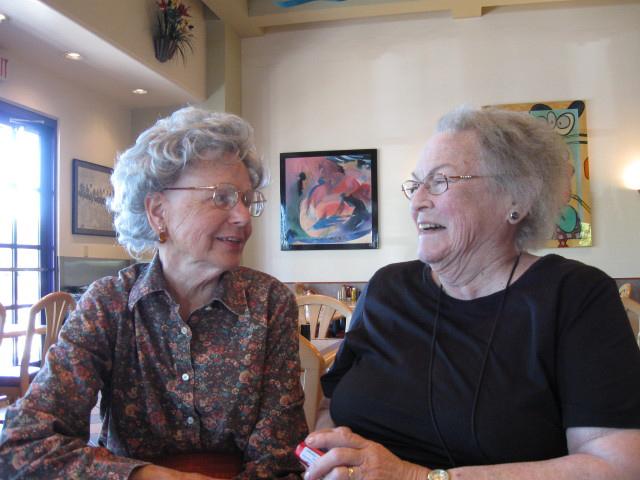 June Payne & Marion Peddle